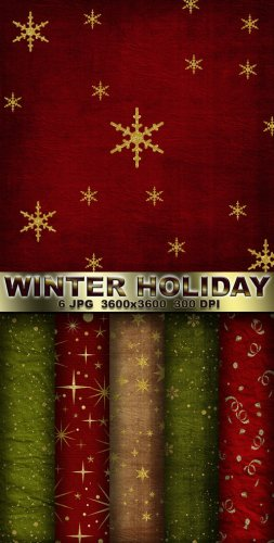 Winter Holiday Backgrounds
