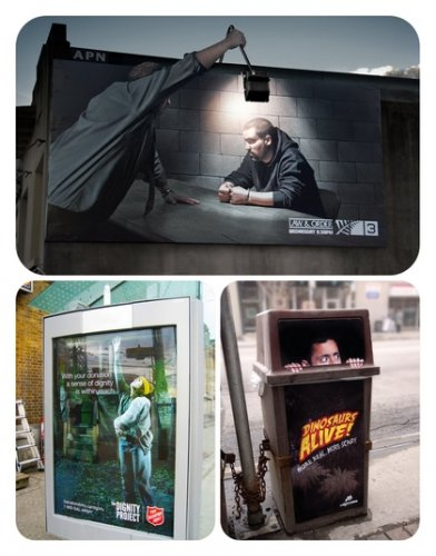 Ideas for Outdoor Advertising#3