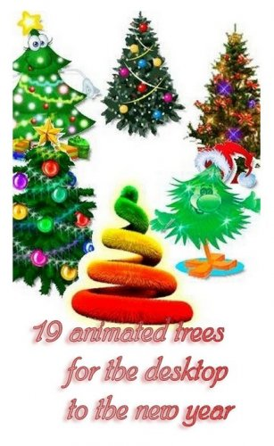 19 animated trees for the desktop to the new year