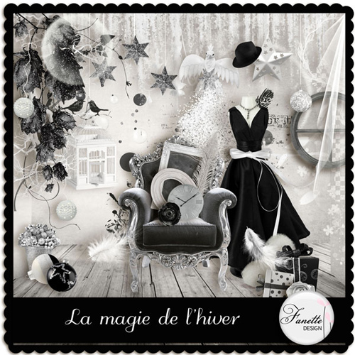 "Scrap-collection ""Magic of Love"""