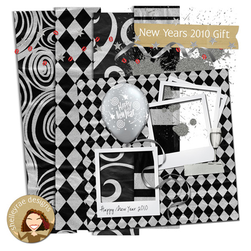 "Scrap-collection ""New Years Gift 2010"