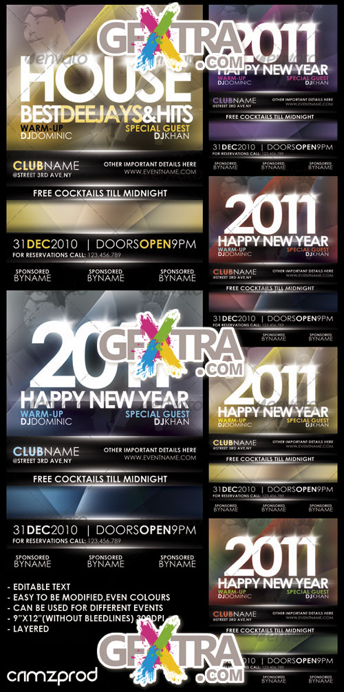GraphicRiver - Club Party Poster 2011