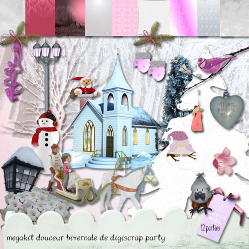"Scrap-collection ""Winter Snow"""