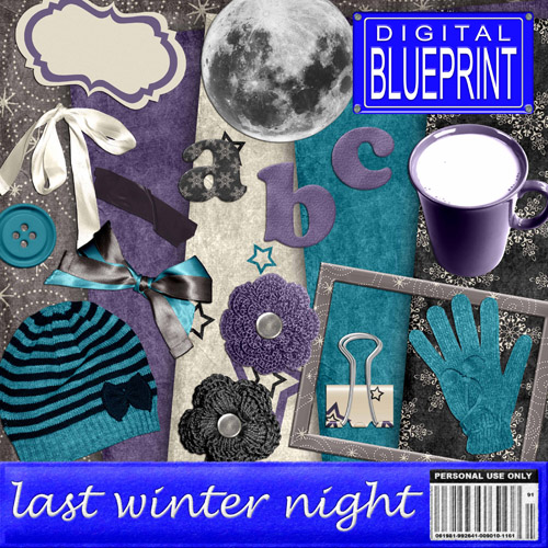 "Scrap-collection ""Winter Night"""
