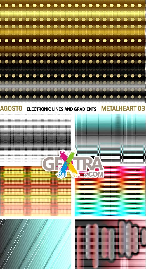 Electric Lines & Gradients - Agosto MetalHeart MH03