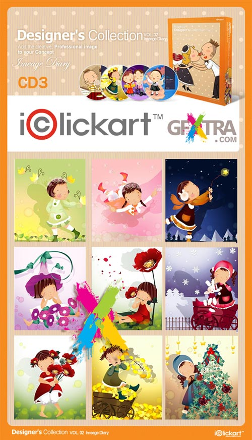 iClickart Designer's Collection Vol.2 - CD3 of 4
