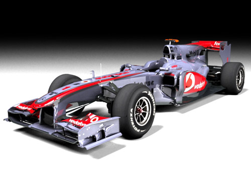 Cars models & textures from F1 2010 game