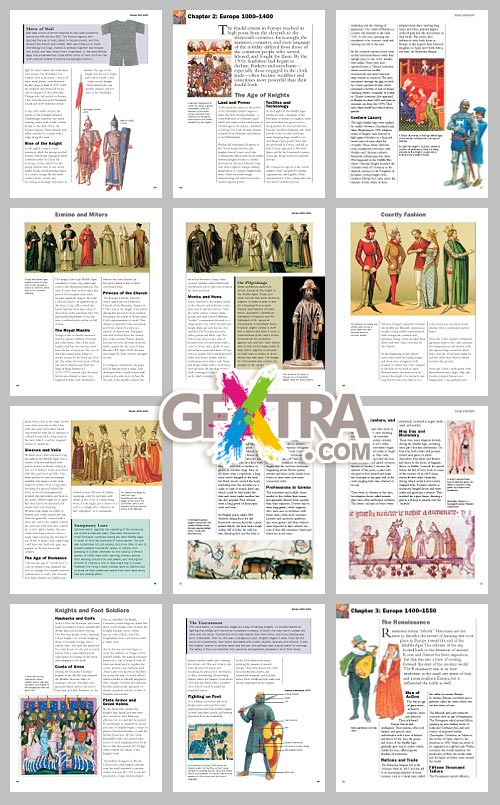 History of Costume and Fashion Vol.2, The Medieval World
