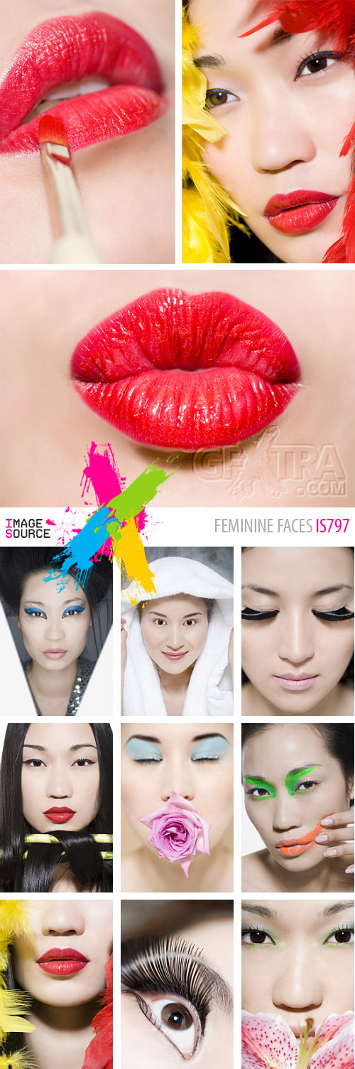 Image Source IS797 Feminine Faces