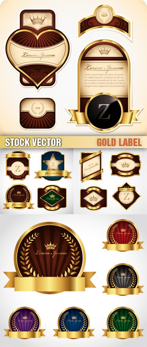 Shutterstock - Gold Label