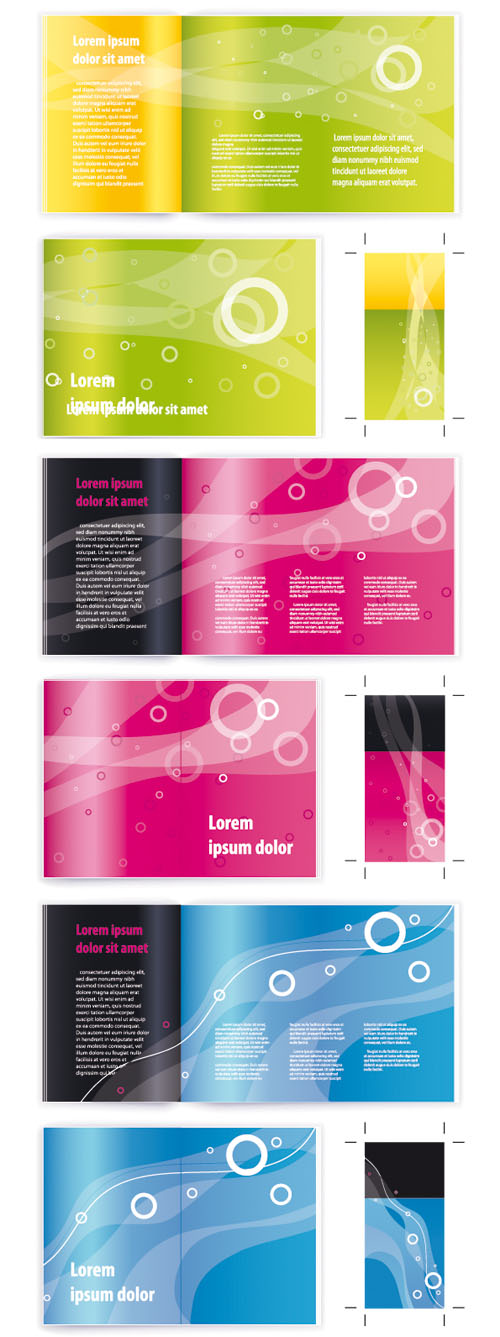 Shutterstock - Booklet Cover Templates 3xEPS