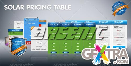 Solar Pricing Table - GraphicRiver - REUPLOADED!