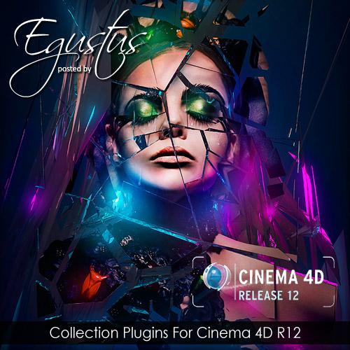 Большой набор плагинов для Cinema 4d R12 с учебниками и инструкциями R12 x8
