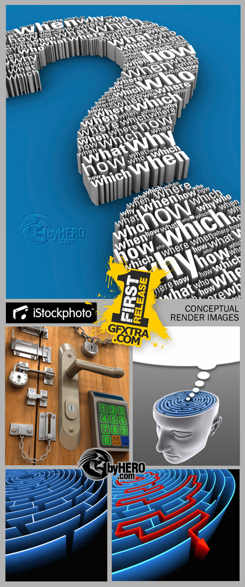 iStockPhoto - Conceptual Render Images