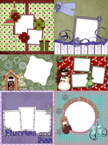 "Scrap-page ""Winter Holidays"""