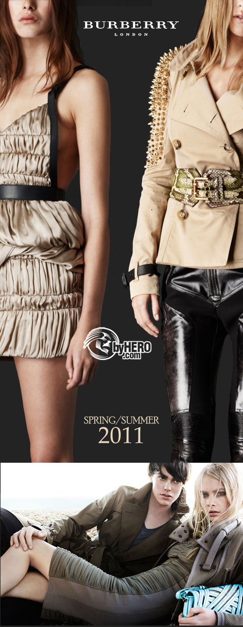 Burberry - Spring Summer 2011, with Campaign and Product Movies