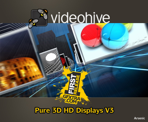Pure 3D HD Displays V3 - FULL - VideoHive
