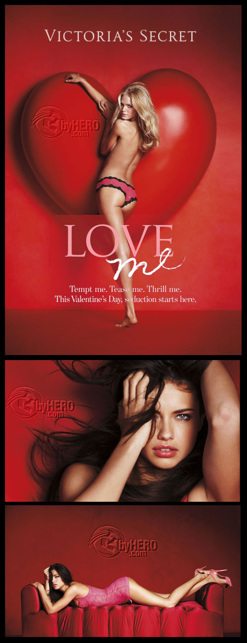 Victoria's Secret Valentine's Day 2011 Lookbook, HQ Photoshoots
