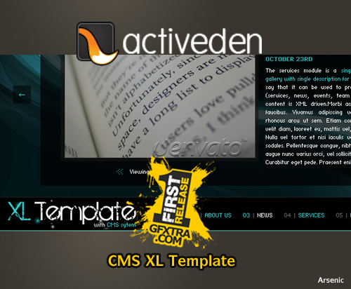 CMS XL Template - FULL - Activeden