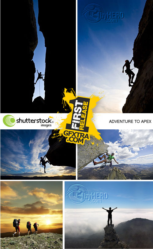 Adventure to Apex 5xJPGs - Stock Image SS