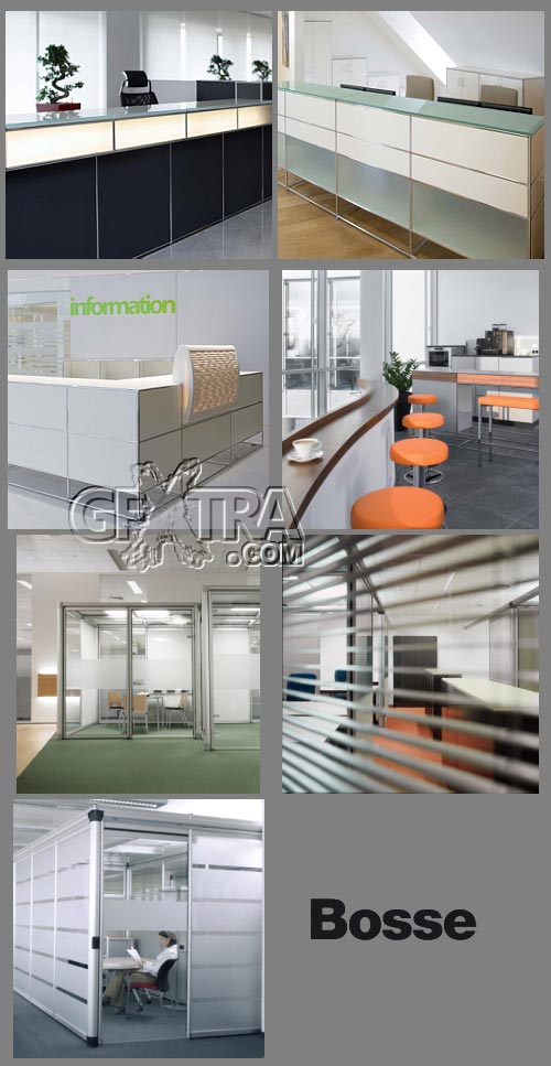 Bosse - Office Interiors from a German Furniture Manufacturer