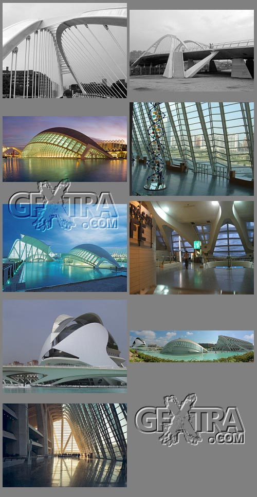Valencia - City of Art and Science, Shocking Architectural Complex!