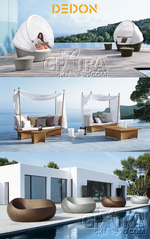 DEDON - Modern Wicker Furniture for Open Spaces