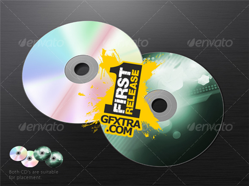 Dual Cd Mockup - GraphicRiver
