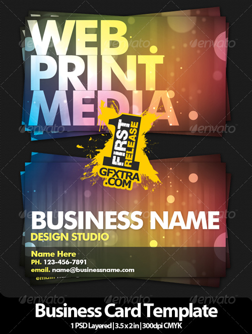 Design Studio Business Card V2 - GraphicRiver