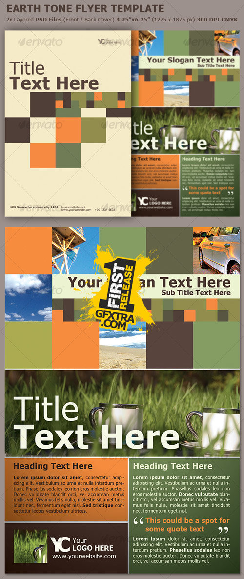 Earth Tones Flyer Template - GraphicRiver