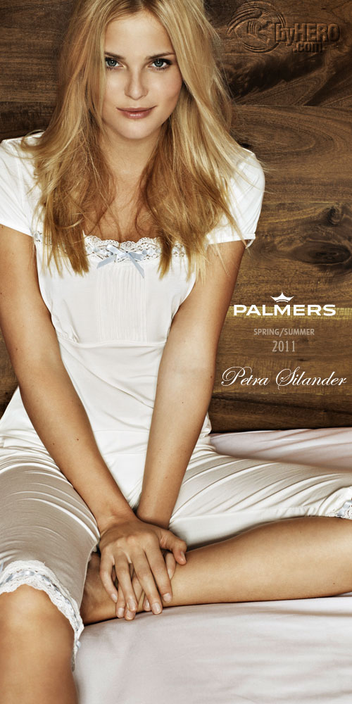 Palmers Spring/Summer 2011, Lingerie Campaign, Petra Silander