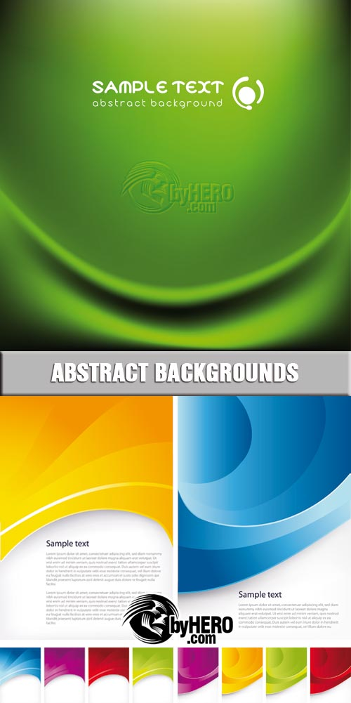 Shutterstock - Abstract Backgrounds 3xEPS