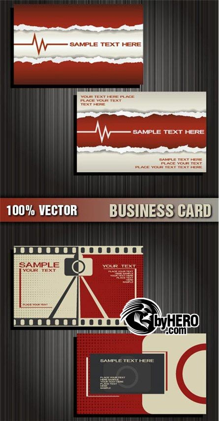Shutterstock - Business Cards 2xEPS