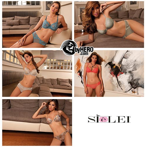 Stelei Spring-Summer 2011 Lingerie Collection, Aida Yespica