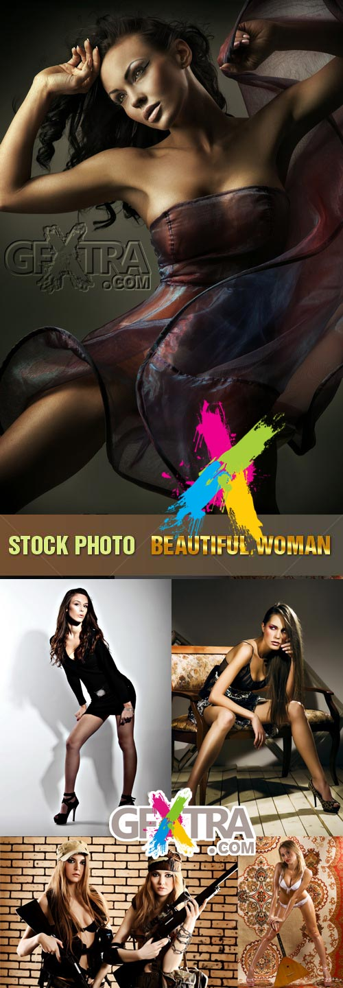 Shutterstock - Beautiful Woman, 5xJPGs