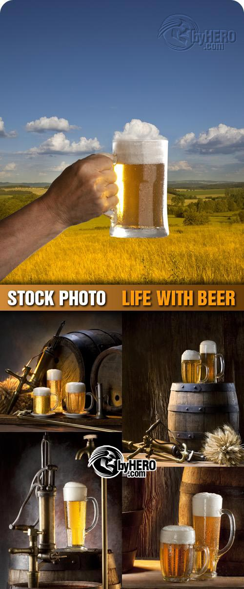 Shutterstock - Life With Beer 5xJPGs