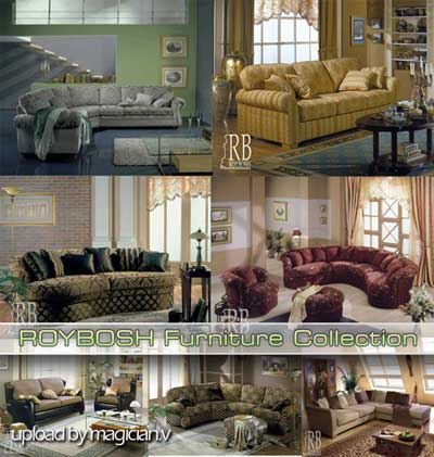 3D models of ROYBOSH Furniture