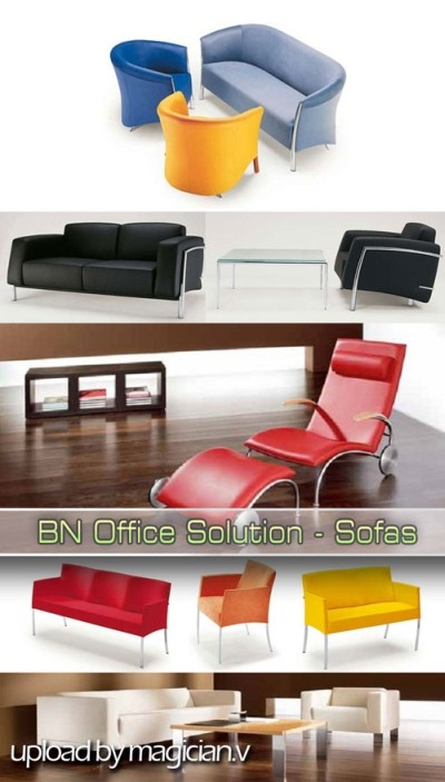 3D models of Sofas from BN Office Solution