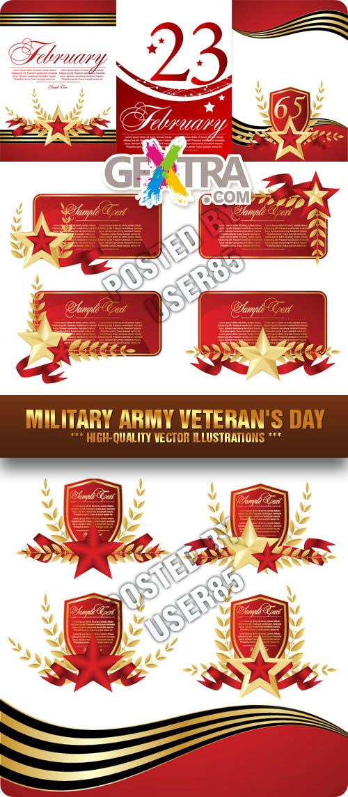 Stock Vector - Military Army Veteran\'s Day