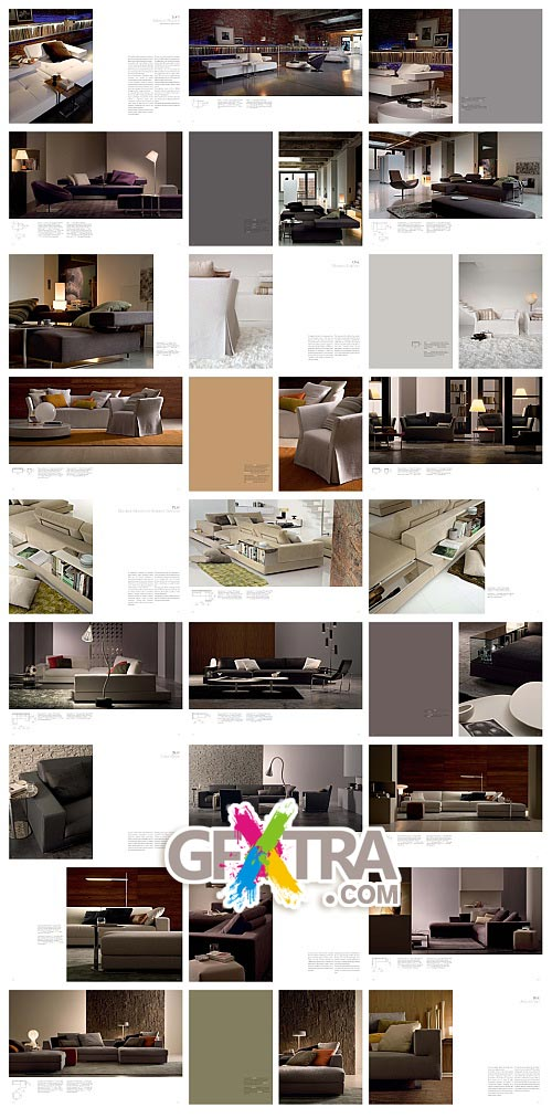 Arketipo Furniture 3D Models, Italy