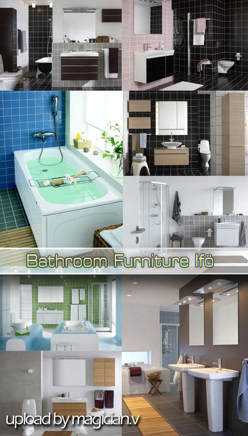 3D models of Bathroom Furniture iFO