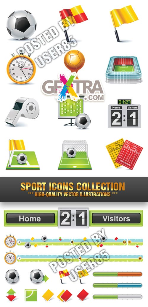 Stock Vector - Sport Icons Collection