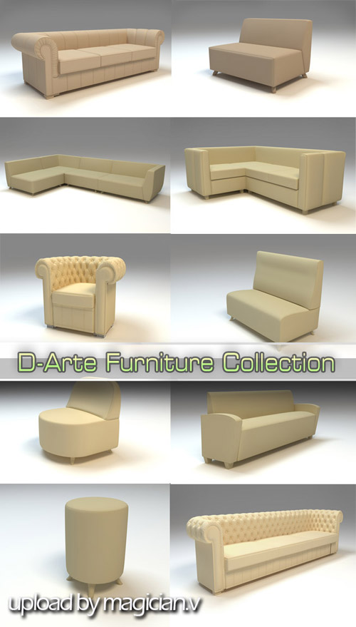 3D models of D-Arte Furniture