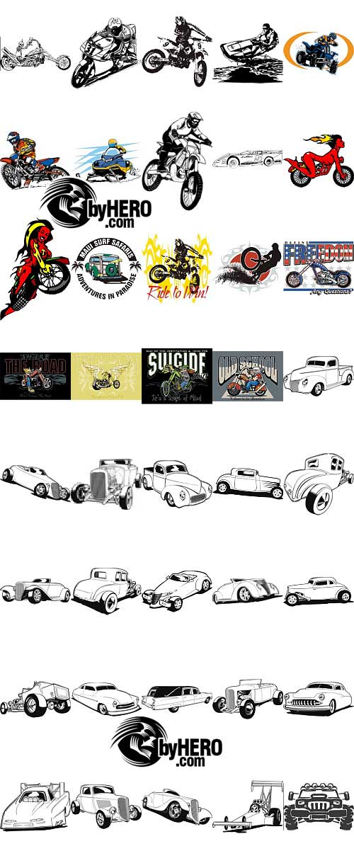 Extreme Clipart 2010 - Auto&Moto Pack