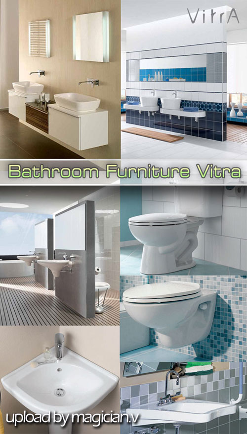 3D models of Bathroom Furniture Vitra