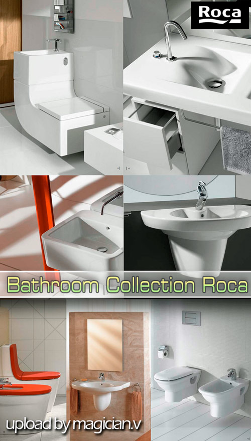 3D models of Bathroom Collection Roca