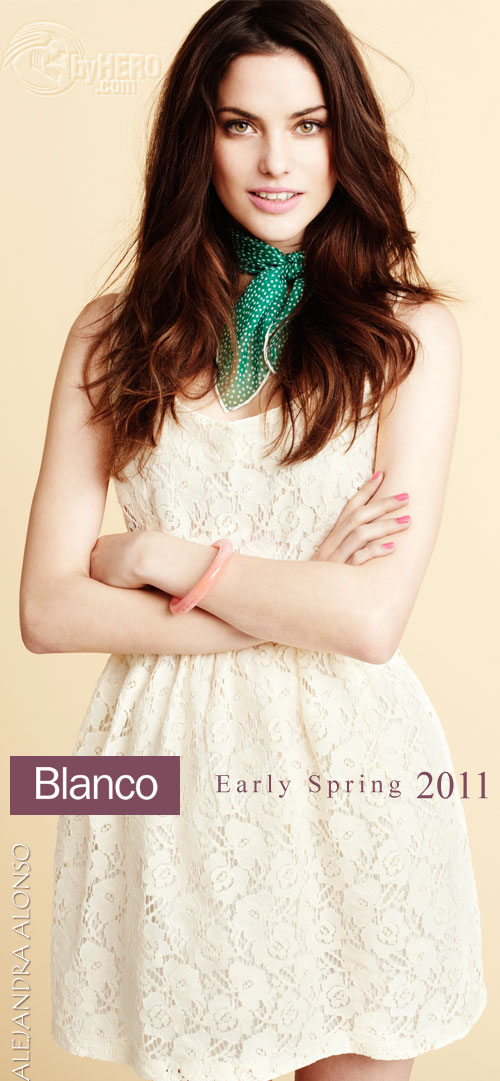 Blanco - Early Spring, March 2011 LookBook and Video, Alejandra Alonso