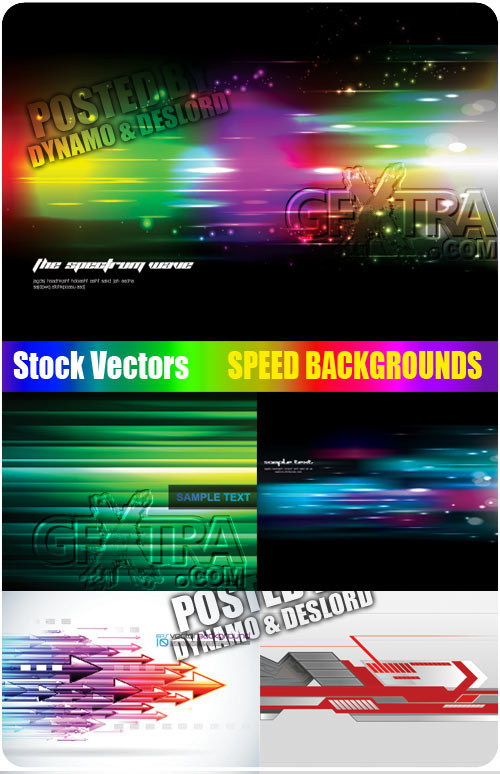 Stock Vectors - Speed Backgrounds