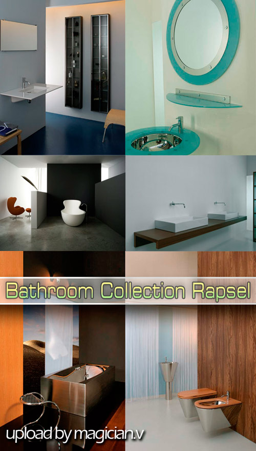 3D models of Bathroom Collection Rapsel