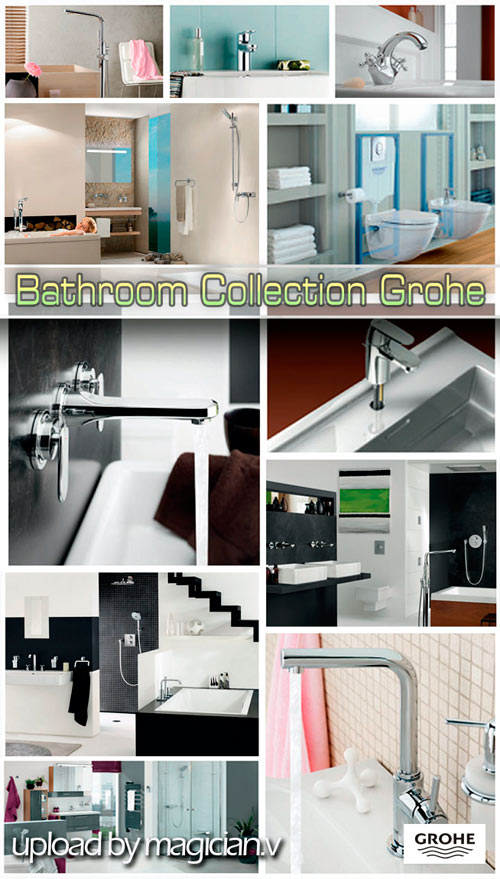 3D models of Bathroom Collection Grohe